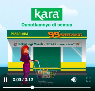 Kara available in 99Speedmart