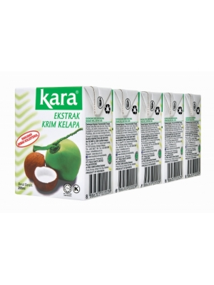 Kara Coconut Cream 5's x 200ml